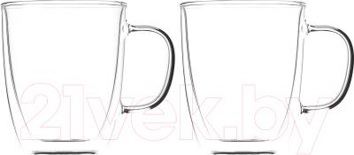 Набор кружек Ardesto С двойными стенками / AR2640GH