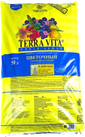 Грунт для растений Terra Vita Forte для цветов 4601104981965 (50л) -