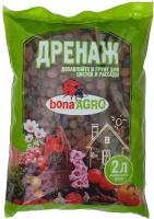 Дренаж для растений Bona Agro Керамзитовый мелкий 4813617000365 (2л) -
