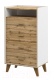 Комод Мебель-Неман Сканди МН-036-18 (дуб вотан/белый) -