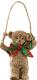 Елочная игрушка Erich Krause Decor Мишка с бантиком / 45891 -