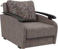 Кресло-кровать Sofos Оскар раскладное Тип C (Mercan Plain Java/Mercan Java/орех 91) -