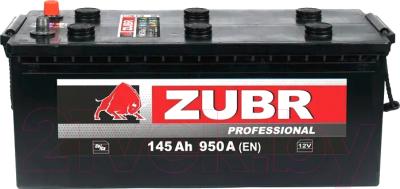Автомобильный аккумулятор Zubr Professional New R+