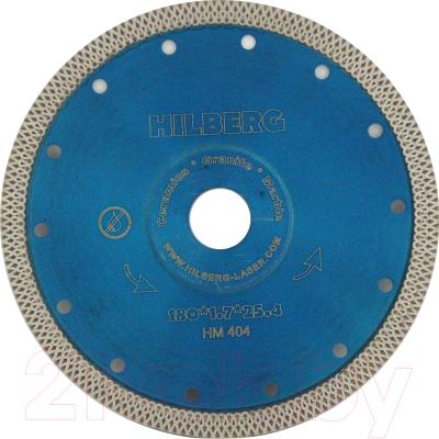 Отрезной диск алмазный Hilberg 180 ультратонкий турбо X / HM404