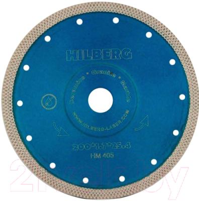 Отрезной диск алмазный Hilberg 200 ультратонкий турбо X / HM405