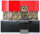 Готовая кухня Интерлиния Мила Gloss 50-24 (красный/черный) -