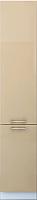 Шкаф-пенал кухонный Интерлиния Мила Gloss НШП-№2-2145 (капучино) -