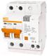 Дифференциальный автомат TDM АД12 2Р 63А 100мА / SQ0204-0024 -