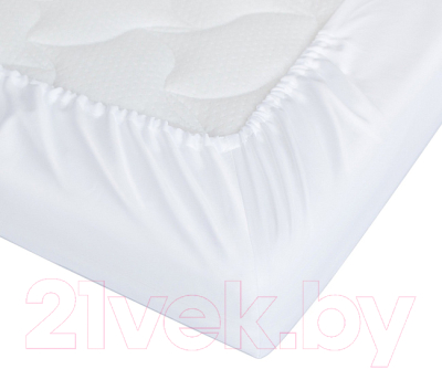 Простыня детская Perina На резинке Белый / ПР-120.3