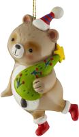 Елочная игрушка Erich Krause Decor Медведь глазурный / 47730 -