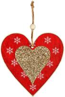 Елочная игрушка Erich Krause Decor Сердце / 47740 -
