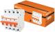 Выключатель автоматический TDM ВА47-29 4Р 10А (С) 4.5кА / SQ0206-0123 -