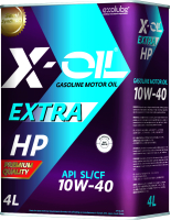 Моторное масло X-Oil Extra HP 10W40 SL/CF / GL1040-04T (4л) -