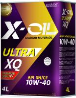 Моторное масло X-Oil Ultra XQ 10W40 SN/CF / G11040-04T (4л) -