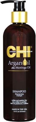 Шампунь для волос CHI Argan Oil Plus Moringa Oil Shampoo
