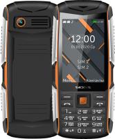 Мобильный телефон Texet TM-D426 (черный/оранжевый) -
