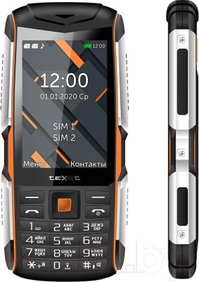 Мобильный телефон Texet TM-D426 (черный/оранжевый)