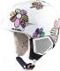 Шлем горнолыжный Alpina Sports 2020-21 Carat LX / A9081-00 (р-р 46-48, цветы) -