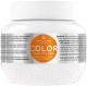 Маска для волос Kallos KJMN с льняным маслом и УФ-фильтром для окрашен.поврежден.волос (275мл) -