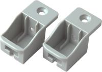 Комплект креплений мебельных Boyard SBH40/GR (серый) -