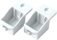 Комплект креплений мебельных Boyard SBH40/W (белый) -