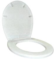 Сиденье для унитаза Aquant AQ2600БЕЛ-17PS -