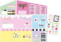 Аксессуар для кукольного домика Lundby Обои. Магазин / LB-60500600 -