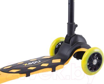 Самокат Ridex Robin 3D (неоновый желтый)