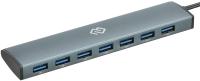 USB-хаб Digma HUB-7U3.0С-UC-G (серый) -