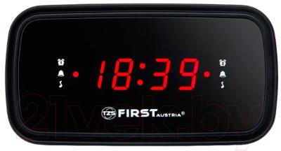 Радиочасы FIRST Austria FA-2406-6 (черный)
