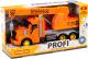 Кран игрушечный Полесье Профи / 86617 (инерционный, оранжевый) -