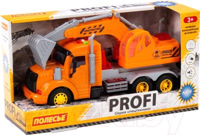 Экскаватор игрушечный Полесье Профи / 86457