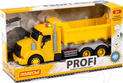 Самосвал игрушечный Полесье Профи / 86273