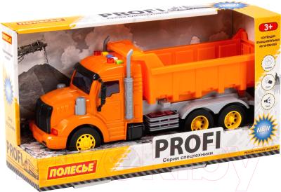 Самосвал игрушечный Полесье Профи / 86297