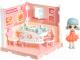 Комплект аксессуаров для кукольного домика Bondibon Кукольный уголок и куколка Oly. Столовая / ВВ4494 -