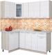 Готовая кухня Интерлиния Мила 12x19 (вудлайн кремовый) -