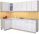 Готовая кухня Интерлиния Мила 12x26 (вудлайн кремовый) -