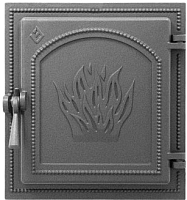 Дверца печная Везувий 271 (антрацит) -