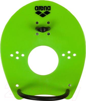 Лопатки для плавания ARENA Elite Hand Paddle 95250 65 (р-р M, acid lime/black)