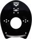 Лопатки для плавания ARENA Elite Hand Paddle 95250 55 (р-р M, чёрный/серебряный) -