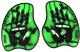 Лопатки для плавания ARENA Vortex Evolution Hand Paddle 95232 65 (M, Acid lime/Black) -
