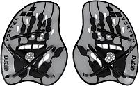 Лопатки для плавания ARENA Vortex Evolution Hand Paddle 95232 15 (р-р M, серебряный/черный) -