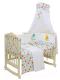 Комплект постельный в кроватку Polini Kids Disney baby. Медвежонок Винни Чудесный день 7 (желтый) -