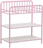 Столик пеленальный Polini Kids Vintage 1180 (розовый) -