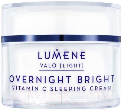 lumene valo arctic berry Крем для лица Lumene Valo Overnight Bright Sleeping Vitamin С