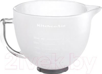 Фото - Чаша для миксера KitchenAid 5K5GBF kitchenaid чаша для мороженого kitchenaid kica0wh
