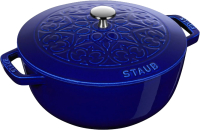 Кокотница Staub La Cocotte Лилия 11212691 (темно-синий) -