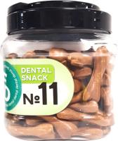 Лакомство для собак For Dogs Dental Snack Рецепт № 11 Bone для очистки зубов / TUZ536 (750г) -