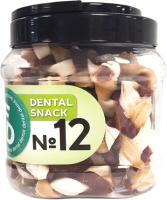 Лакомство для собак For Dogs Dental Snack Рецепт № 12 Super Twist для очистки зубов / TUZ534 (500г) -