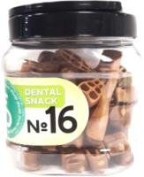 Лакомство для собак For Dogs Dental Snack Рецепт № 16 Smart Brush для очистки зубов / TUZ532 (500г) -